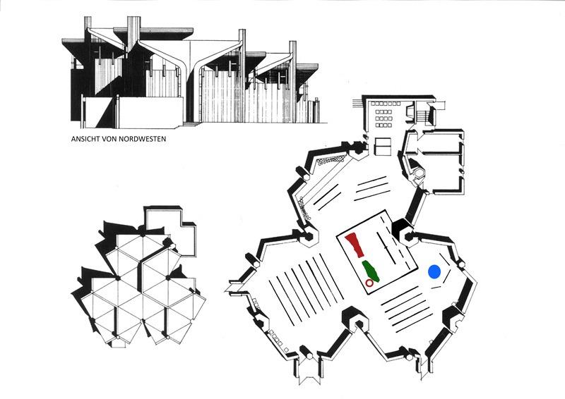 Emmerich | Heilig Geist | © Architekturbüro Prof. D.G. Baumewerd, Münster