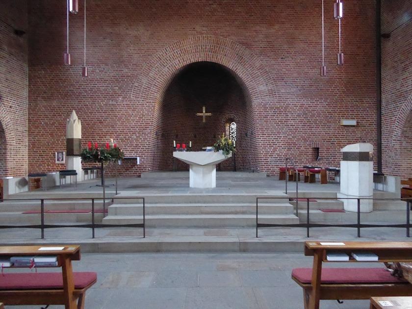 Essen | St. Bonifatius | Altarraum | Foto: Markus Juraschek-Eckstein
