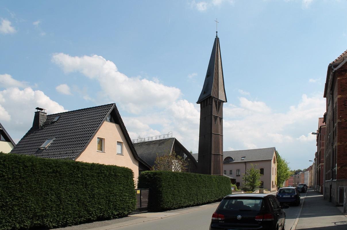 Zwickau-Neuplanitz | Versöhnungskirche | Außenbau | Foto: Verena Schädler