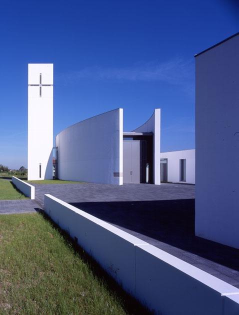 Leopoldshöhe | St. Johannes Baptist | Außenbau | Foto: Baumewerd Architekten