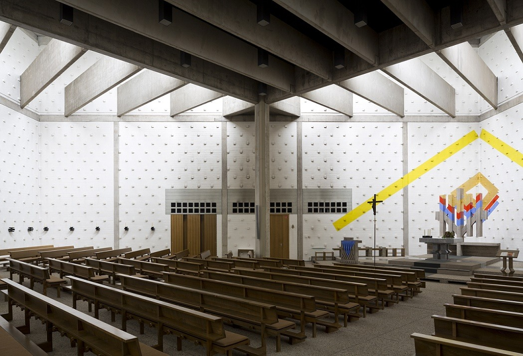 Lemgo | Heilig Geist | Innenraum | Foto: Florian Monheim, Krefeld
