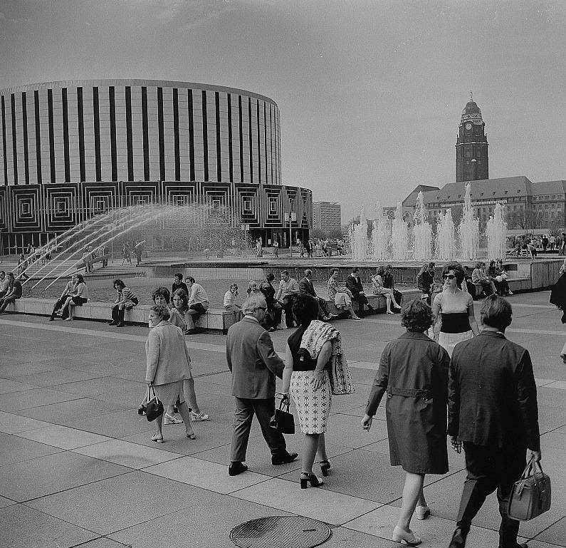 Dresden | Rundkino | Bild: Deutsche Fotothek, CC BY SA 3.0, Foto: Richard Peter, um 1970