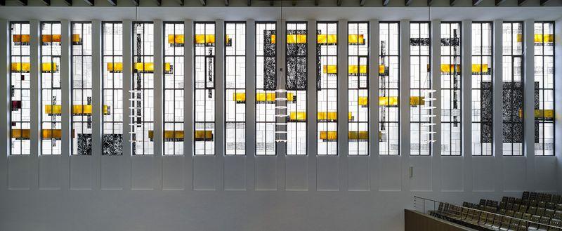 Düsseldorf-Düsseltal | Matthäikirche | Fenstergestaltung | Foto: Thomas Richle