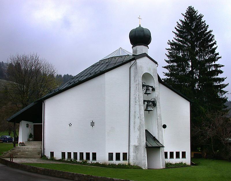Schliersee | Christuskirche | Foto: © Architekturmuseum der TU München, Gabriele Winter