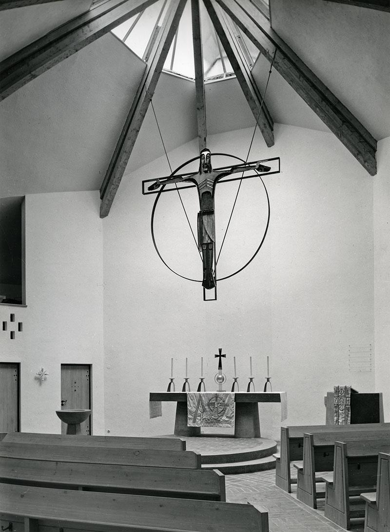 Schliersee | Christuskirche | Foto: © Architekturmuseum der TU München, Inger Gulbransson