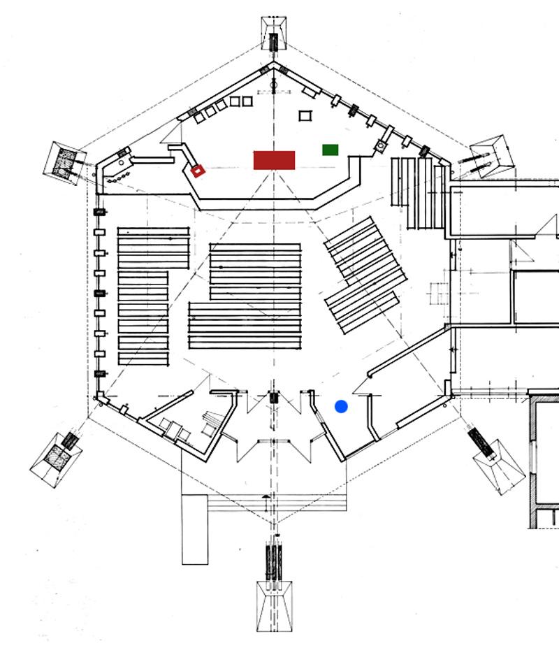 Ilmenau | St. Josef | Grundriss
