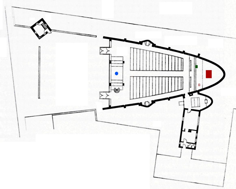 Bottrop | Heilig Kreuz | Grundriss