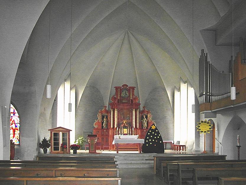Eslohe-Cobbenrode | St. Nikolaus | Innenraum | Foto: Dr. Hans Wiechers, CC BY SA 3.0