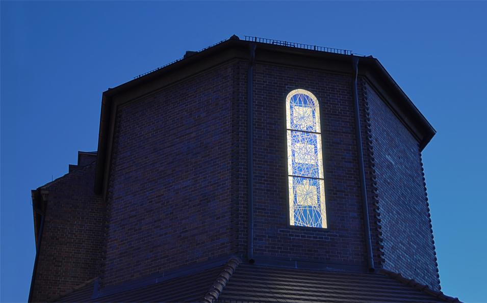 Cottbus | St. Maria Himmelskönigin | Apsis | Foto: Hans Bindewald