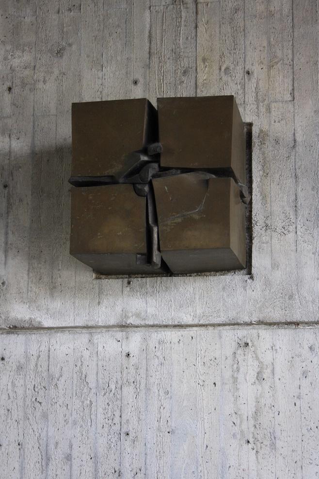 Dachau| Versöhnungskirche | Kreuz | Foto: Philipp Stoltz