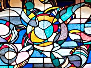 Frankfurt am Main-Nordend | Epiphaniaskirche | Seitenschifffenster | Foto: Christine Krienke, Landesamt für Denkmalpflege Hessen