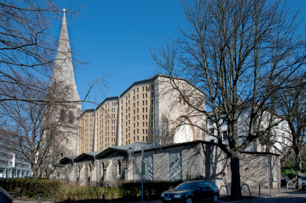 Frankfurt am Main-Nordend | Epiphaniaskirche | Außenbau | Foto: Christine Krienke, Landesamt für Denkmalpflege Hessen