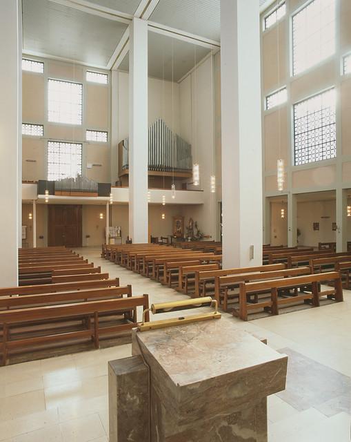 Köln-Ehrenfeld | St. Mechtern | Orgelemempore| Foto: Landschaftsverband Rheinland