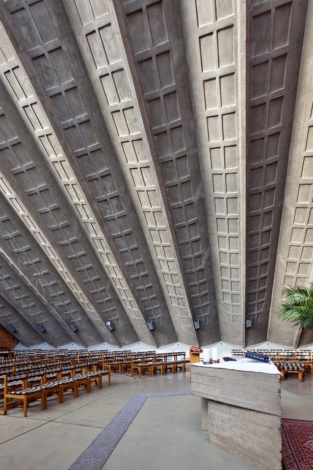 Leipzig-Wiederitzsch | St. Gabriel | Deckenkonstruktion
