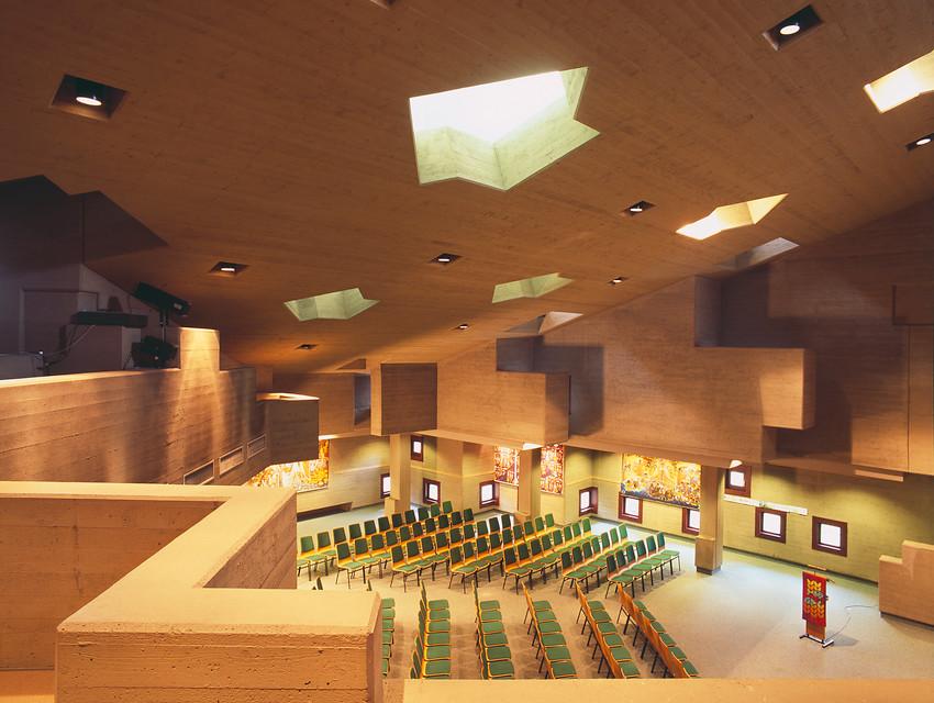 Monheim | Friedenskirche | Kirchenraum | Foto: LVR-Amt für Denkmalpflege im Rheinland, Jürgen Gregori