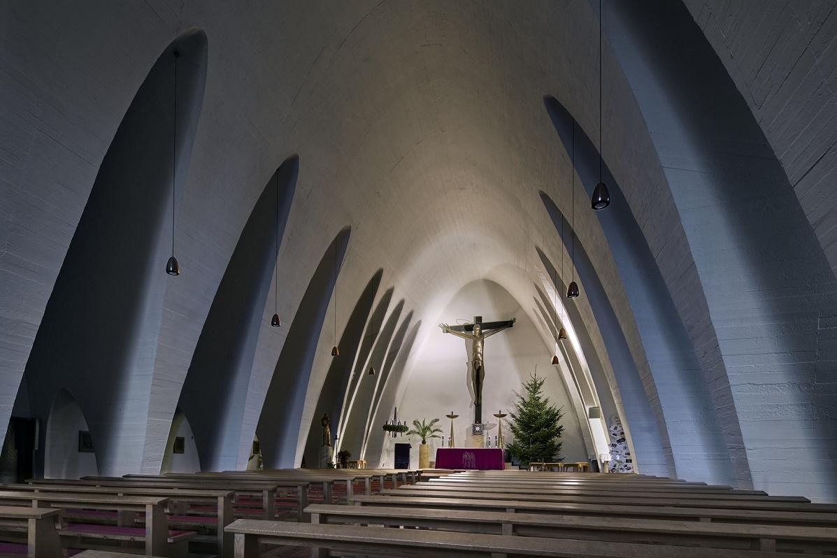 Bischofsheim | Christkönig | Innenraum | Foto: Marcel Schawe, Frankfurt am Main