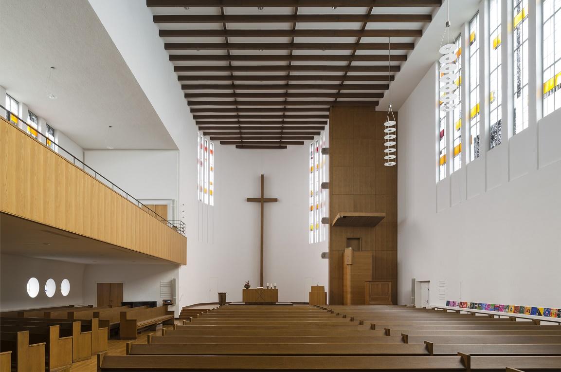 Düsseldorf-Düsseltal | Matthäikirche | Innenraum | Foto: Florian Monheim