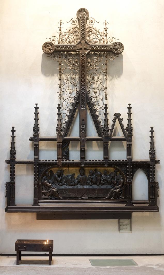 Berlin | Kapelle der Versöhnung | Altaraufbau | Foto: Florian Monheim, Krefeld