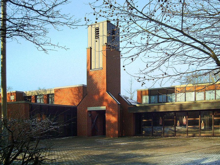Münster-Coerde | Andreaskirche | Außenbau | Foto: Ev. Andreas-Kirchengemeinde zu Münster-Coerde