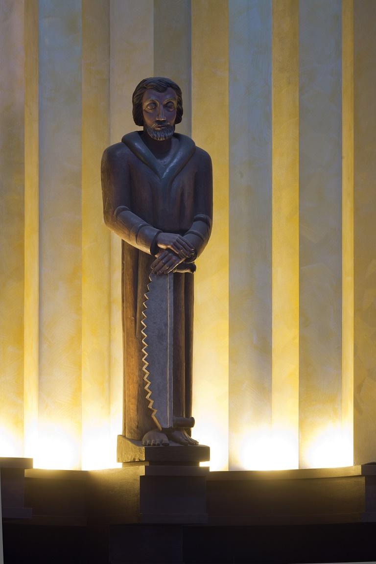 Berlin-Prenzlauer Berg | St. Augustinus | Josephsfigur| Foto: Florian Monheim
