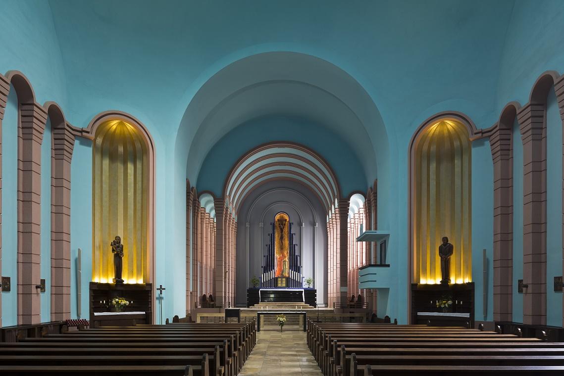 Berlin-Prenzlauer Berg | St. Augustinus | Innenraum | Foto: Florian Monheim