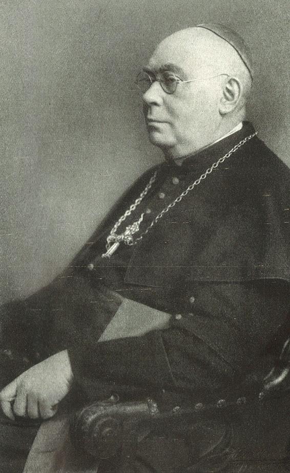Weihebischof Dr. Josef Deitmer | Bildquelle: Festschrift zur Weihe der Augustinerkirche, Berlin 1928