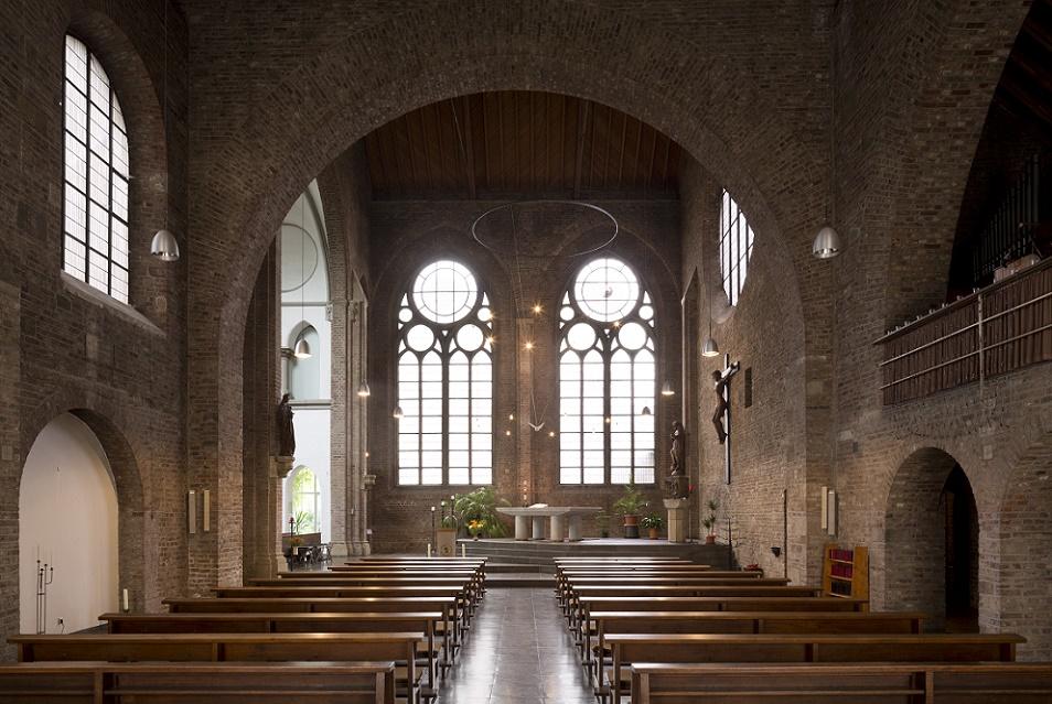 Köln-Altstadt Süd | Zum unbefleckten Herzen Mariens | Innenraum | Foto: Florian Monheim