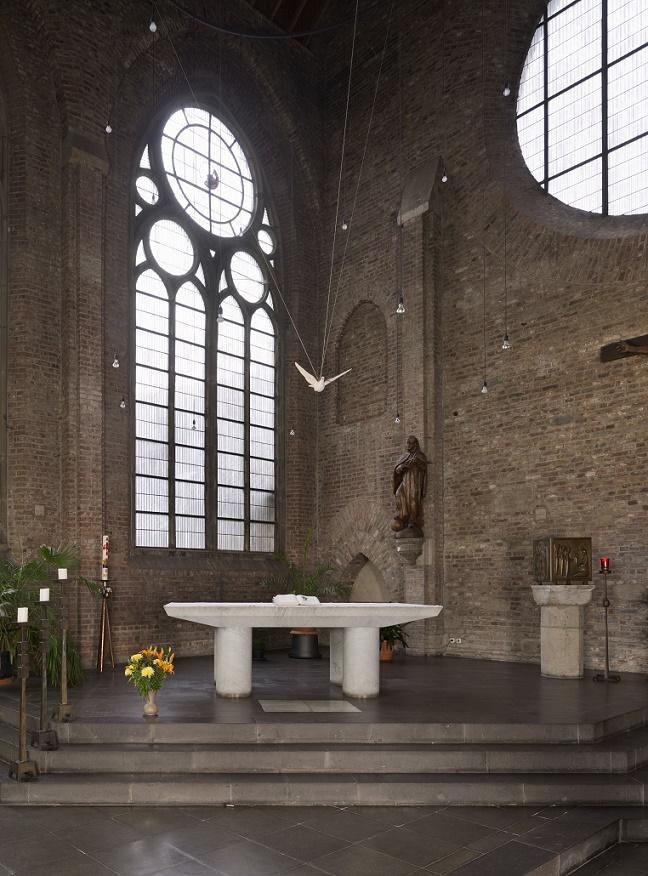 Köln-Altstadt Süd | Zum unbefleckten Herzen Mariens | Altarraum | Foto: Florian Monheim