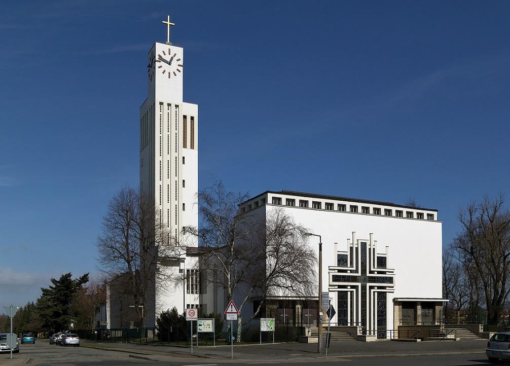 Leipzig-Gohlis | Versöhnungskirche | Außenbau | Foto: © Bertram Kober/PUNCTUM