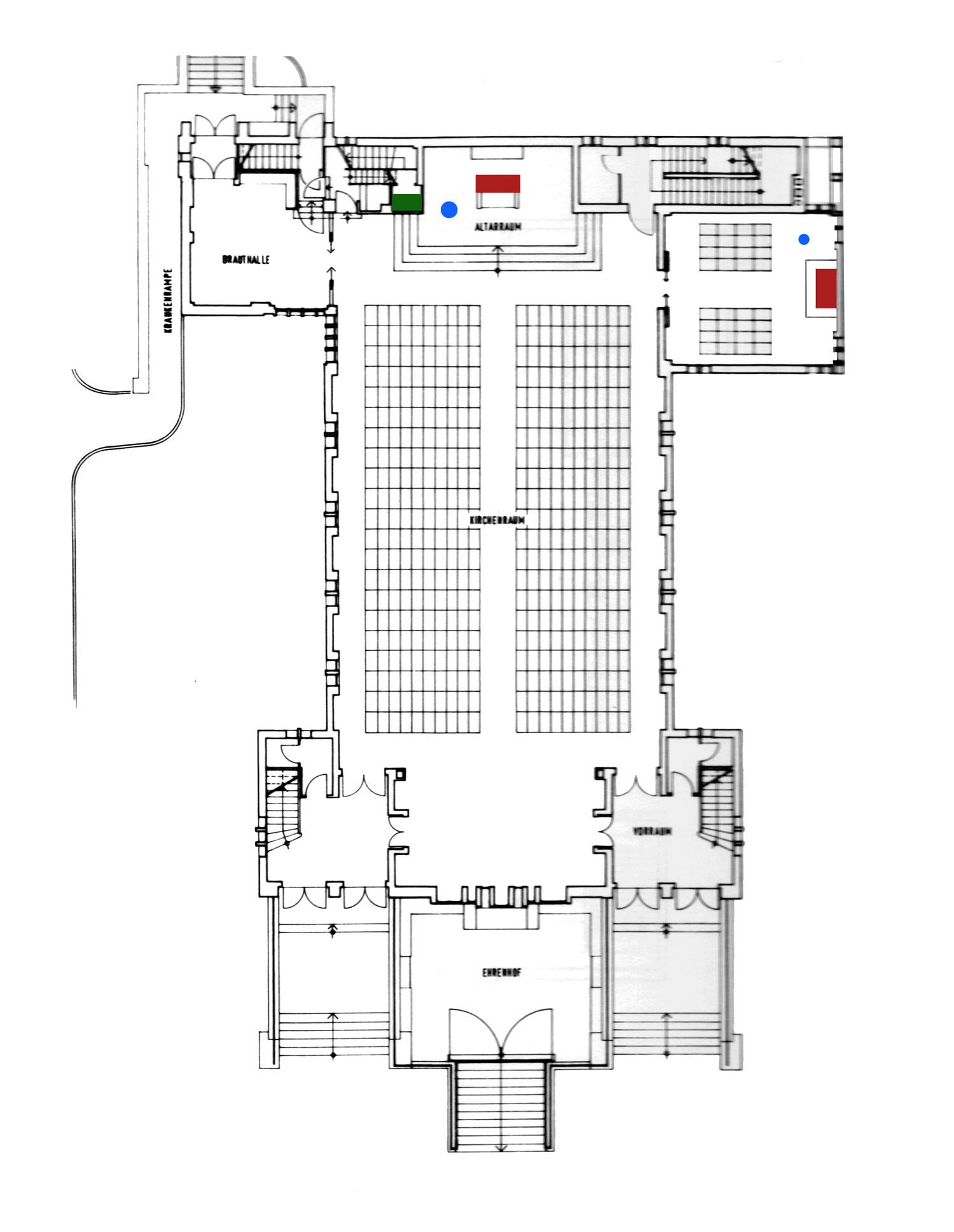 Leipzig-Gohlis | Versöhnungskirche | Grundriss