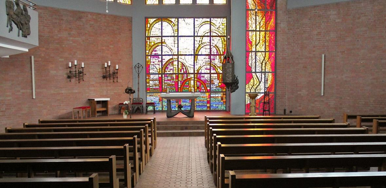 Magdeburg | St. Mechthild | Innenraum | Foto: Matthias Hamann