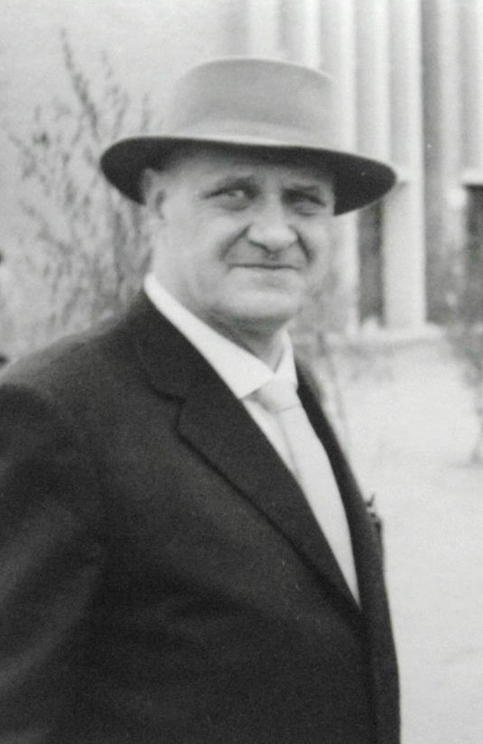 Theo Burlage, 1959 | Foto: Klaus Burlage