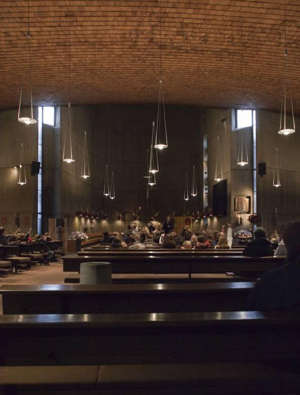 Neuss | St. Pius X. | Innenraum | Foto: Daniela Günzel