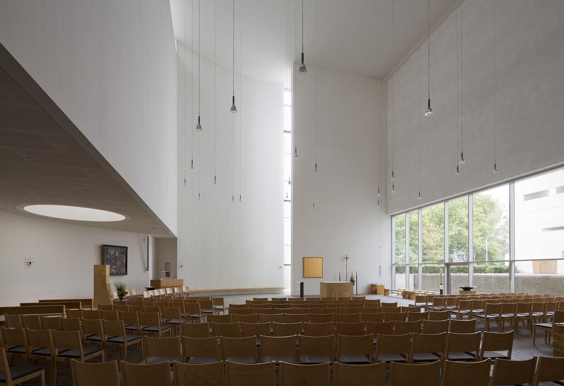 Berlin | St. Canisius | Innenraum | Foto: Florian Monheim