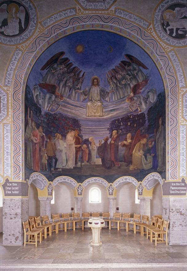 München-Schwabing | Erlöserkirche | Chorraum | Foto: Roman von Götz