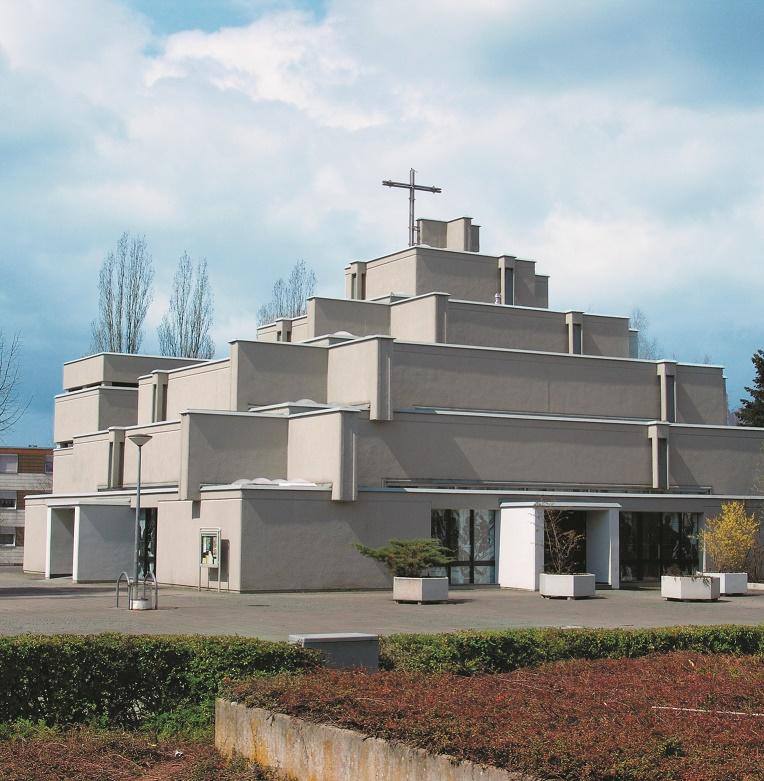 Trier | St. Michael | Außenbau | Foto: Josef Tietzen