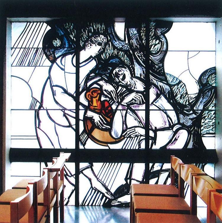 Trier | St. Michael | Glasgestaltung | Foto: Josef Tietzen