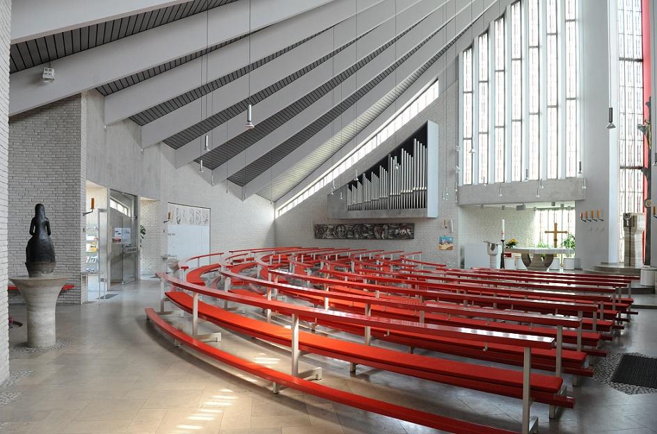 Bremerhaven | St. Ansgar | Innenraum | Foto: Ulrich Schmalstieg