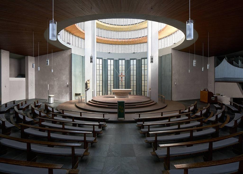 Mainz | Heilig Kreuz | Innenraum | Foto: Marcel Schawe