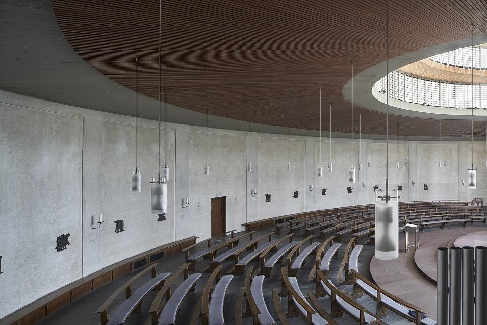 Mainz | Heilig Kreuz | Gemeinderaum | Foto: Marcel Schawe