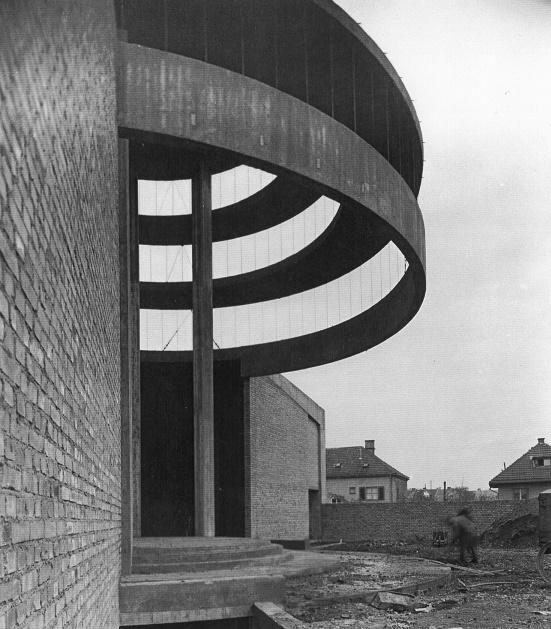 Mainz | Heilig Kreuz | Baustelle in den 1950er Jahren | Foto: Katholische Kirchengemeinde Heilig Kreuz, Mainz