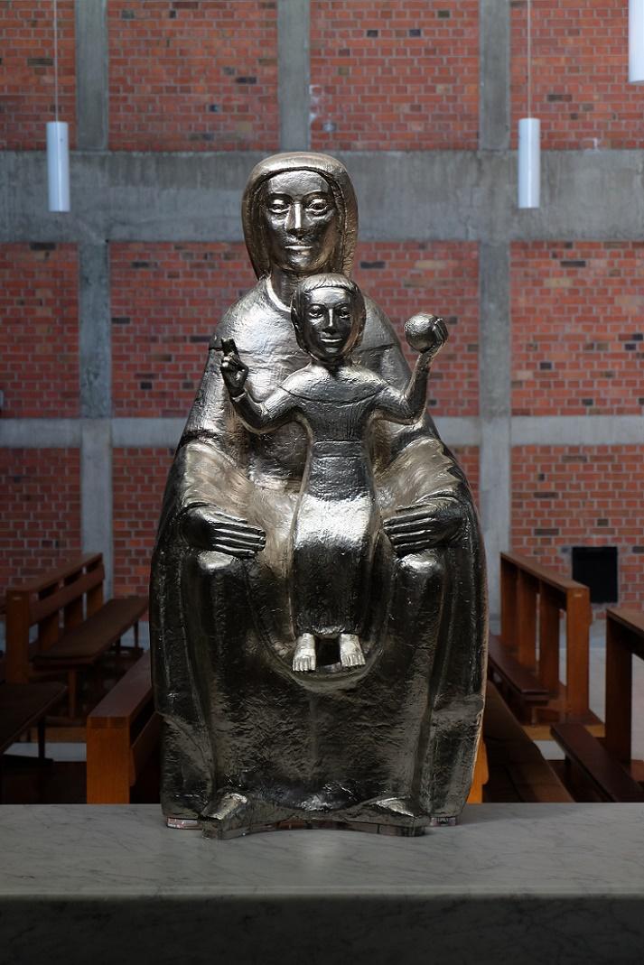 Essen-Frohnhausen | St. Antonius | Marienfigur | Foto: Jürgen Wiener