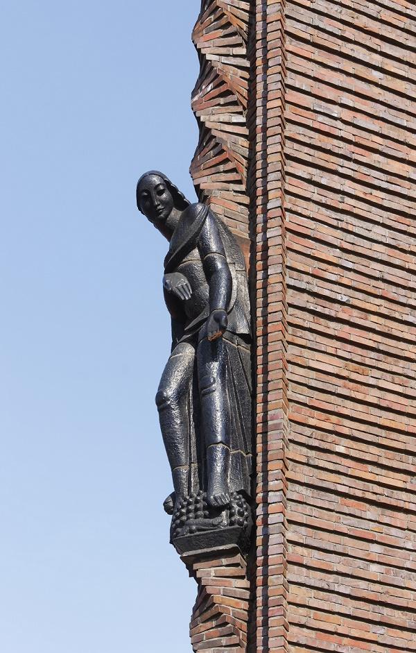 Berlin-Schmargendorf | Kreuzkirche | Bauplastik | Foto: Florian Monheim