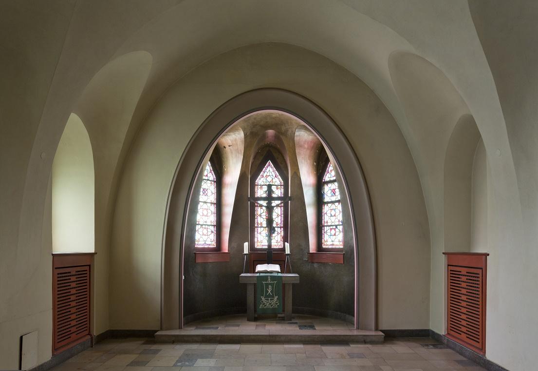 Berlin-Schmargendorf | Kreuzkirche | Brauthalle | Foto: Florian Monheim