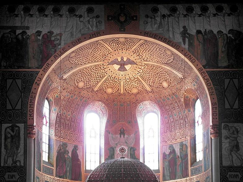 Augsburg | Heiligstes Herz Jesu | Apsis | Foto: Daniel Greb