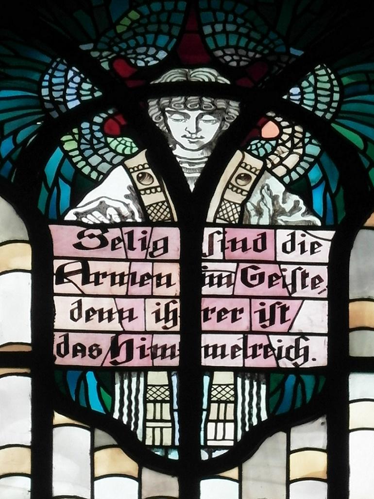Augsburg | Heiligstes Herz Jesu | Glasgestaltung | Foto: Daniel Greb