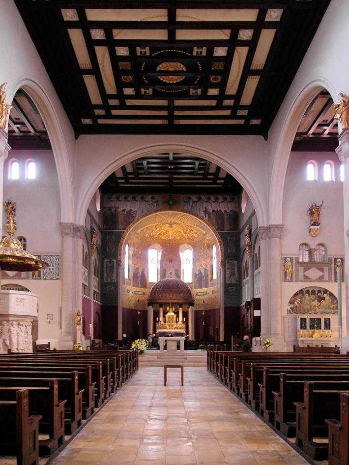 Augsburg | Heiligstes Herz Jesu | Innenraum | Foto: Daniel Greb