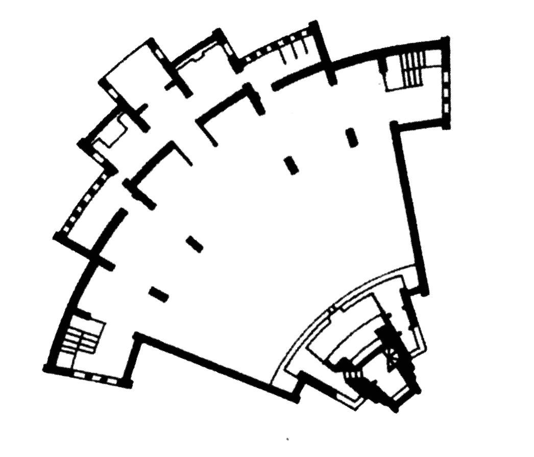 Berlin | Gustav-Adolf-Kirche | Grundriss