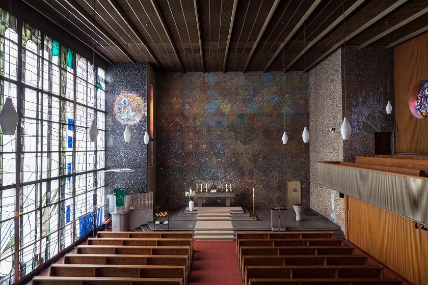 Berlin | Kaiser-Friedrich-Gedächtniskirche | Innenraum | Foto: Evangelische Kirchengemeinde Tiergarten, Standort: Kaiser-Friedrich-Gedächtniskirche