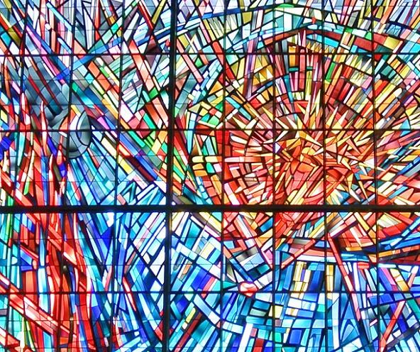 Frankfurt am Main | Dornbuschkirche | Glasgestaltung | Foto: Gaki64, CC BY SA 3.0
